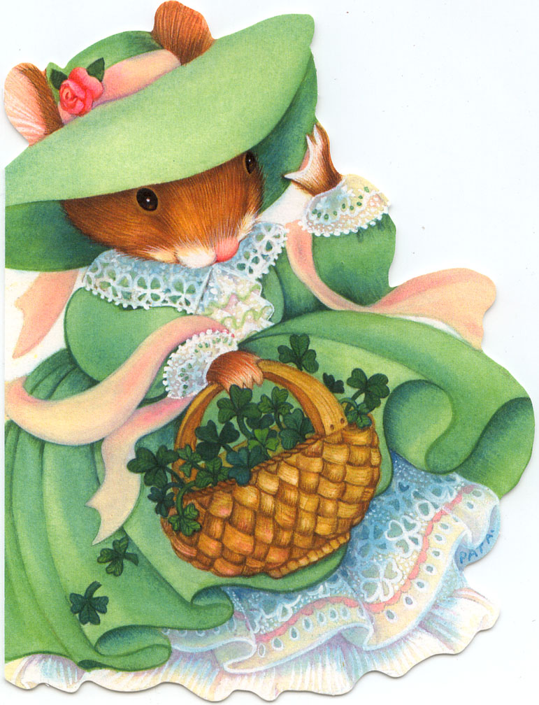 irish-mouse-greeting-card-with-basket-shamrocks