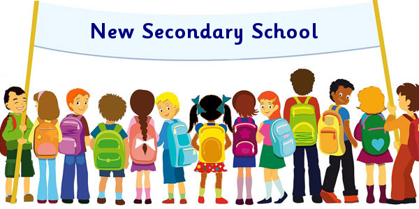 New Secondary School Clipart